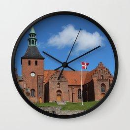 Vor Frue Kirke, Svendborg, Denmark Wall Clock