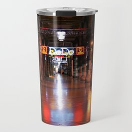 Awaken nights and empty city lights Travel Mug