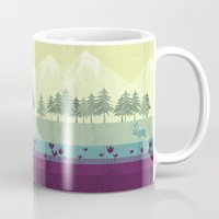 wildlife Mugs featuring Wildlife by Kakel