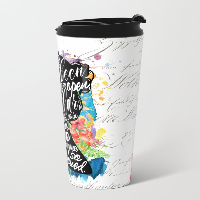 Persuasion - So Beloved Metal Travel Mug