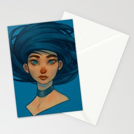 Digital Painitng 4 by AnthuluArt Stationery Cards
