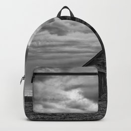 Finland Farm (Black and White) Backpack