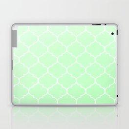 Green Lattice Laptop & iPad Skin