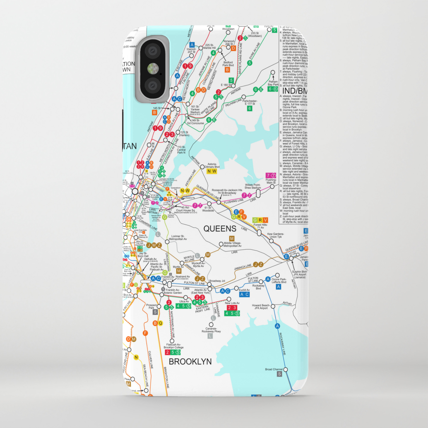 Nyc Subway Map Iphone.New York City Metro Subway Map Iphone Case