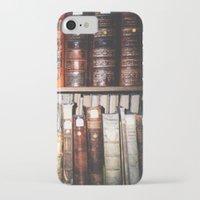 literature iPhone & iPod Cases featuring Art & Literature by czossi
