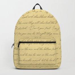 Manuscript Backpack
