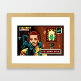 Ghostbusters - Ugly Little Spud Framed Art Print