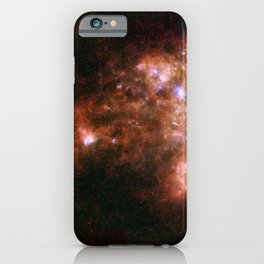 Small Magellanic Cloud, infared iPhone Case