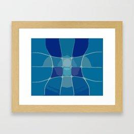 Abstract Lake Water Framed Art Print