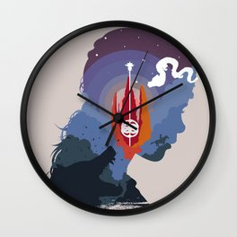 The Many Faces of Cinema: Neverending Story Wall Clock