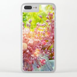Crépuscule Clear iPhone Case