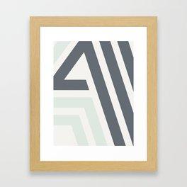Bonjour III - Hello Continued Framed Art Print