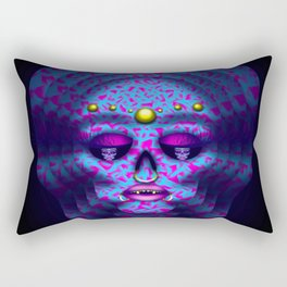 Pierced Skull 4 Rectangular Pillow