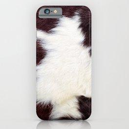 Cowhide Fur iPhone Case