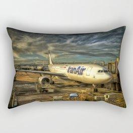 Iran Air Airbus A330 Art Rectangular Pillow