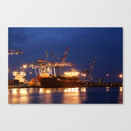loading lights Canvas Print