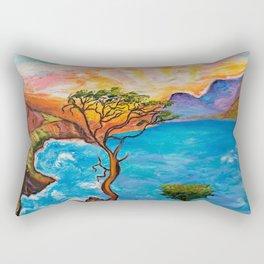 Sunset at Torrey Pines Rectangular Pillow
