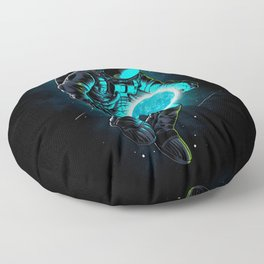 Blue Moon Floor Pillow