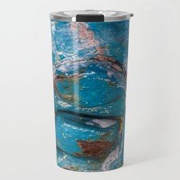 Corroded Metal Travel Mug