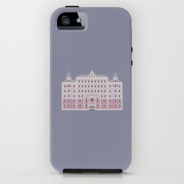 Wes Anderson Series: The Grand Budapest iPhone Case