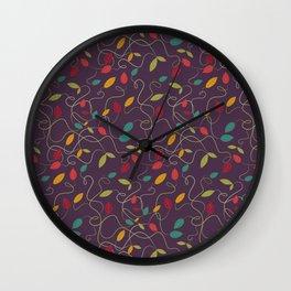 Autumn's bash Wall Clock