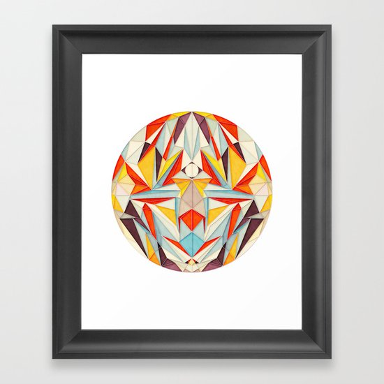 Everything is Fine Framed Art Print