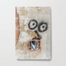 Wall-eyed Surprise Metal Print