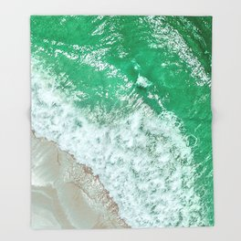 Emerald Sea Throw Blanket