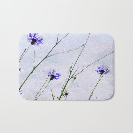 Cornflowers blue II Bath Mat