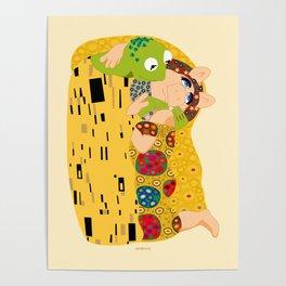 Klimt muppets Poster