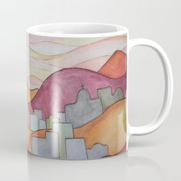 Colorful Hillsides Coffee Mug