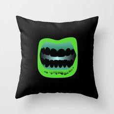 Bouche Throw Pillow