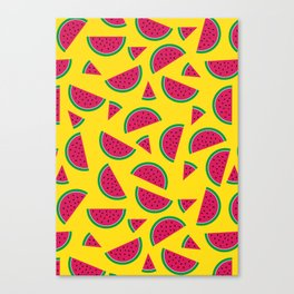 Tutti Fruiti - Watermelon Canvas Print