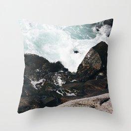 The Ocean Calls (Spring) Throw Pillow