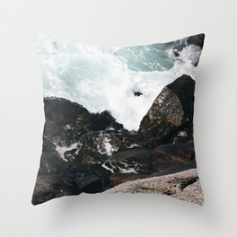 The Ocean Calls (Spring) Throw Pillow
