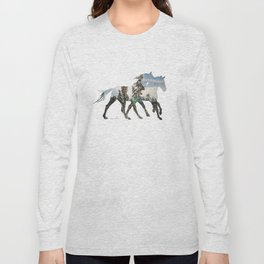 Autumn Horses Long Sleeve T-shirt