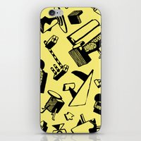 memphis iPhone & iPod Skins featuring Memphis by Mario Graciotti