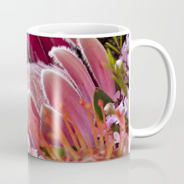 Lovely Feather Protea Coffee Mug