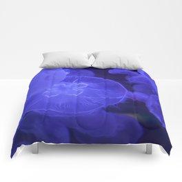 Moon Jelly Fish Comforters