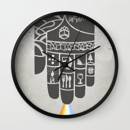 Poster Project | Hospitality Hand Wall Clock
