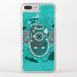 Deep Dive Clear iPhone Case