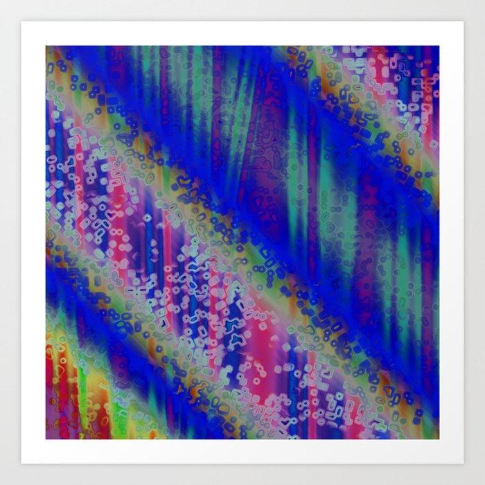 Colours ZH Art Print