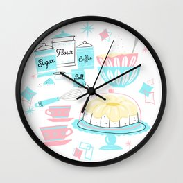 Sugar And Spice And Everything Nice Wall Clock