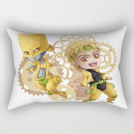 JJBA - ZA WARUDO!! chibi Rectangular Pillow