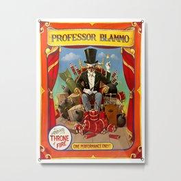 Professor Blammo Metal Print