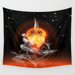 Feuerfisch - fire fish Wall Tapestry