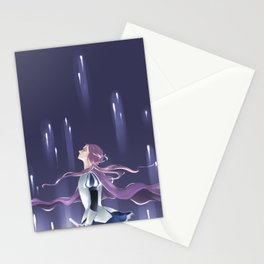 A Knight in the Moonlight Stationery Cards