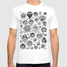 Characters Mens Fitted Tee White MEDIUM
