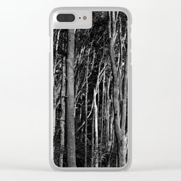 Whispering Trees Clear iPhone Case
