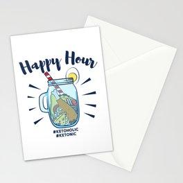 Ketonic Ketoholic Gift Stationery Cards